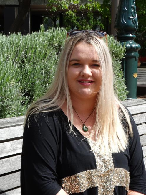 A focus on helping young people has earned young Dunedin woman Kered Taylor a prestigious Oranga Tamariki Award (formerly William Wallace Award), presented at Parliament on Tuesday night. Photo: Brenda Harwood
