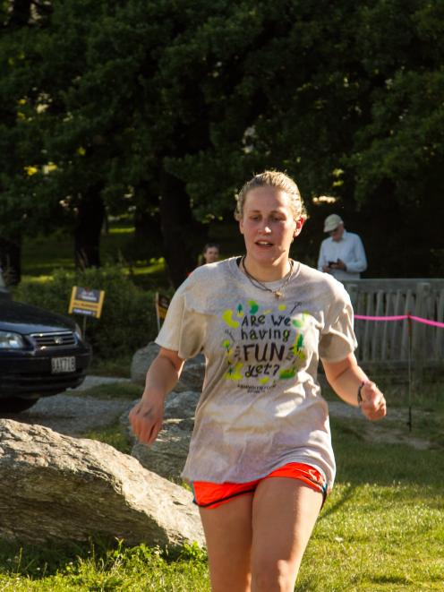 Newcomer Hannah Boaler competes in a TriWanaka event. Photo: Supplied