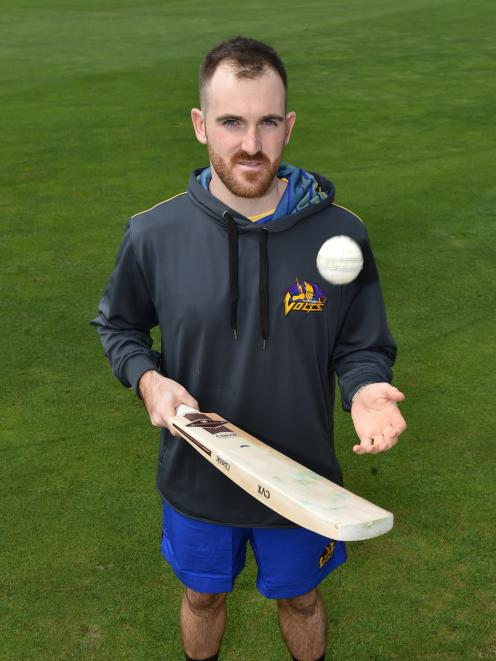The Otago Volts' new English signing Ben Raine hopes to have a positive impact with both the ball...