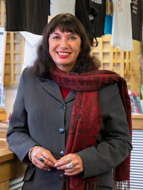 New Zealand Prostitutes Collective co-founder Dame Catherine Healy. Photo: NZ Herald