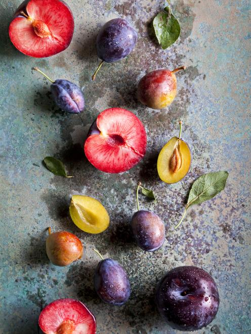 Many plum varieties are coming into season now. Photo: Getty Images
