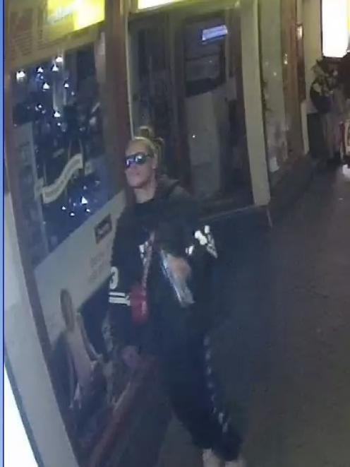 Queenstown police want to talk to this man in relation to an alleged lakefront robbery in the...