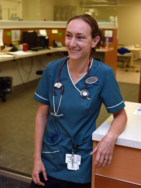 New Dunedin Hospital emergency department nurse practitioner Signe Standbridge. PHOTO: GREGOR...