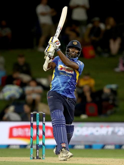 Thisara Perera did everything he could to make a game of it, smashing an incredible 140 to keep...