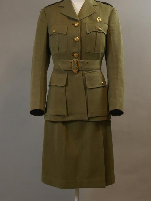 Rua Wight's Women's Auxiliary Army Corps uniform.