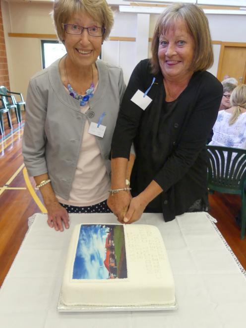 Former Maniototo Hospital matron Bev Reid (left), of Mosgiel, and present hospital nurse manager,...