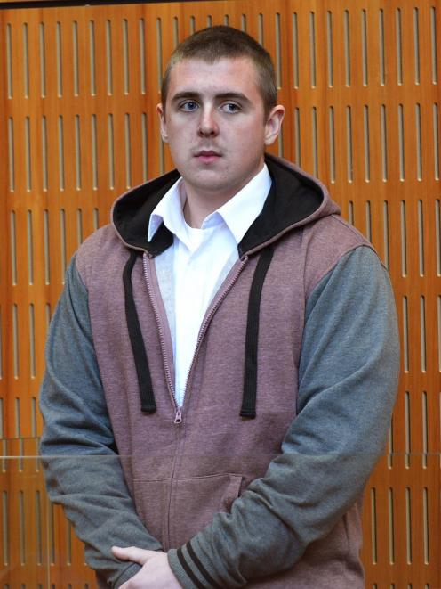 Daniel Smith (25), pictured in 2014, is back behind bars after serving time for a manslaughter in 2010. Photo: ODT files