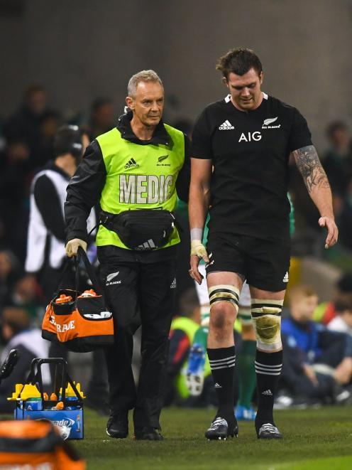 Injury problems have blighted Liam Squire's development in the 6 jersey. Photo: Getty Images