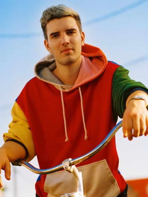 Belgian drum and bass producer and musician Boris Daenen, AKA Netsky, is performing at Ori '19, this Thursday. Photo: Supplied