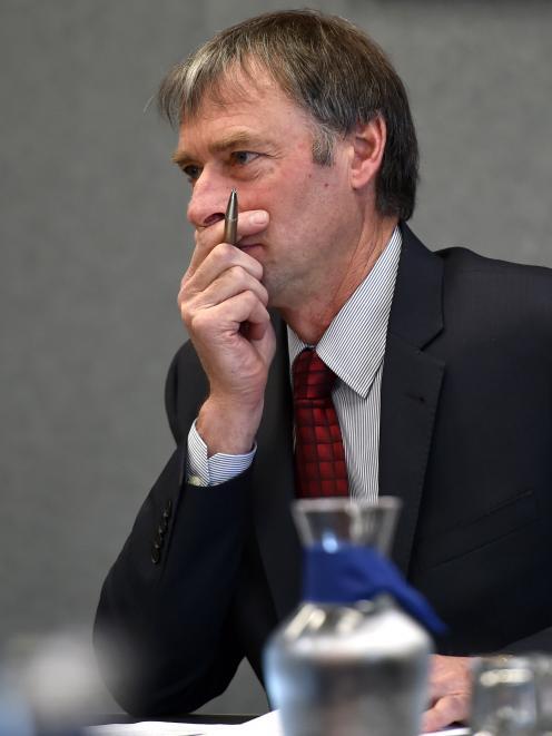 Otago Regional Council chairman Stephen Woodhead.
