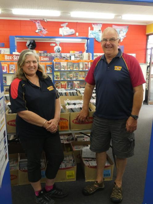 Windsor United Video owners Roy and Melinda Barnsdale are still operating and have no plans on...