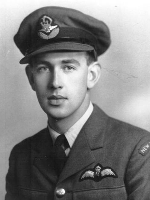 Jack Lunn was a fighter pilot in World War 2 and originally hailed from Alexandra. Photo: Supplied