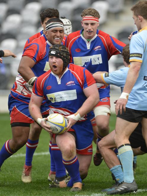 Harbour prop Aidan Spence calls for support.