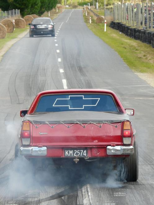 The Lawrence Quarter-Mile Drags hit the town's Wetherstons straight for the 27th time today....