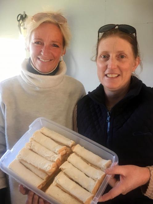 Anna Graham (left) and Rebecca Tisdall have been catering for trials the past 20 years. Photos:...