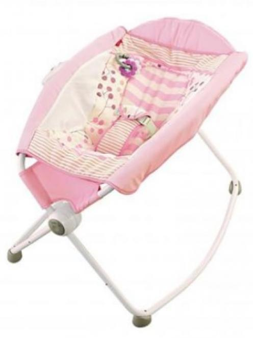 The Fisher-Price Rock 'n Play Sleeper.