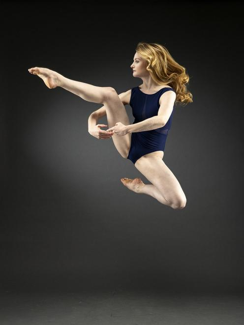 Rebecca Murray hopes to inspire young dancers. PHOTO: SUPPLIED