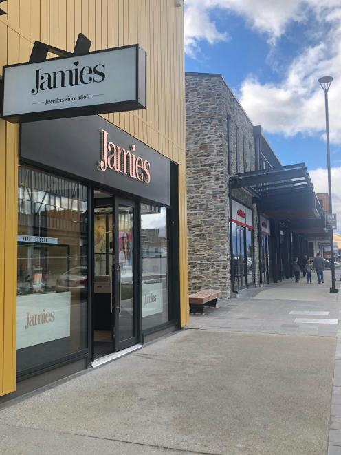 The burglary occurred at Jamies Jewellers in Queenstown Central Complex.