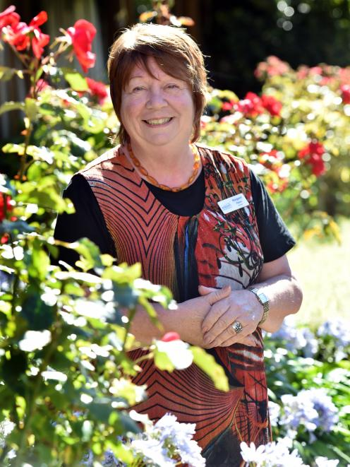 Ross Home manager Margaret Pearce. PHOTO: PETER MCINTOSH