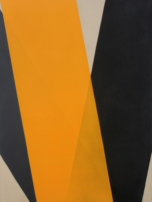 XY (Black/Grey/Yellow), by Leanne Morrison
