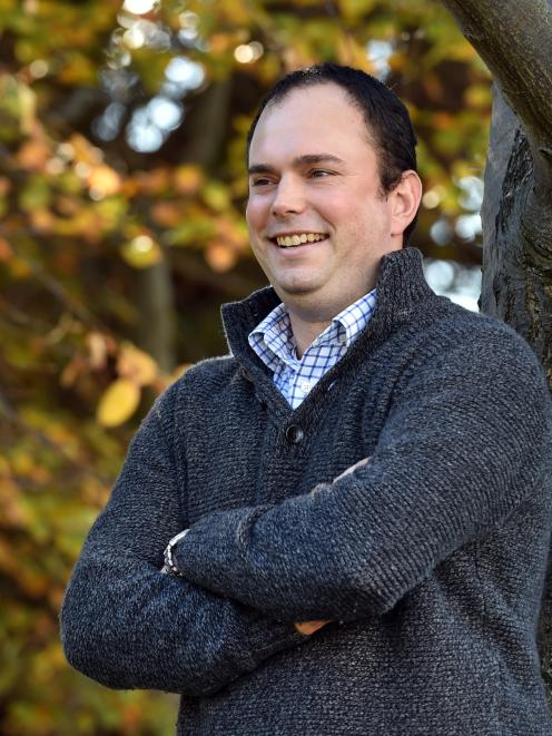 Australian born consultant Sam Harburg has moved to Dunedin to work at AbacusBio. Photo: Peter...