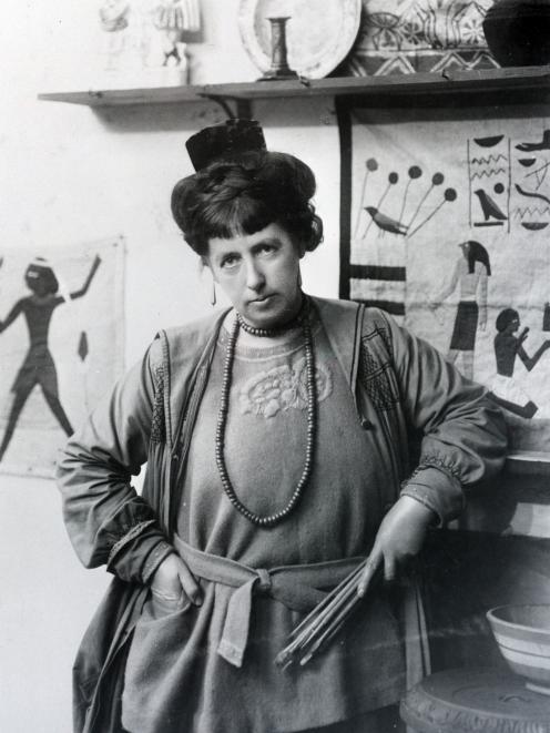 Dunedin-born artist Frances Hodgkins in 1925. Photo: Supplied