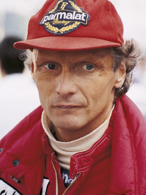 Niki Lauda fire