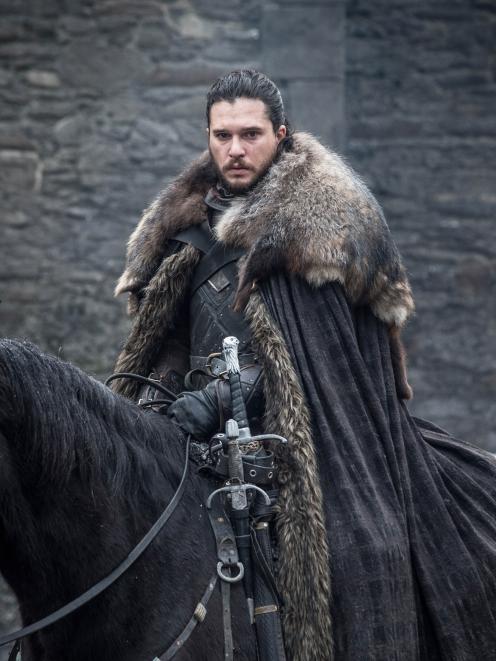Kit Harrington as Jon Snow in Game of Thrones. Photo: Supplied