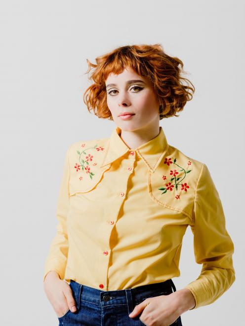 ''The cute yellow country and western shirt looks cool and easy teamed with Ksubi high waisted...