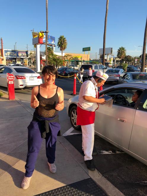 Chef Penny Allan in Los Angeles.