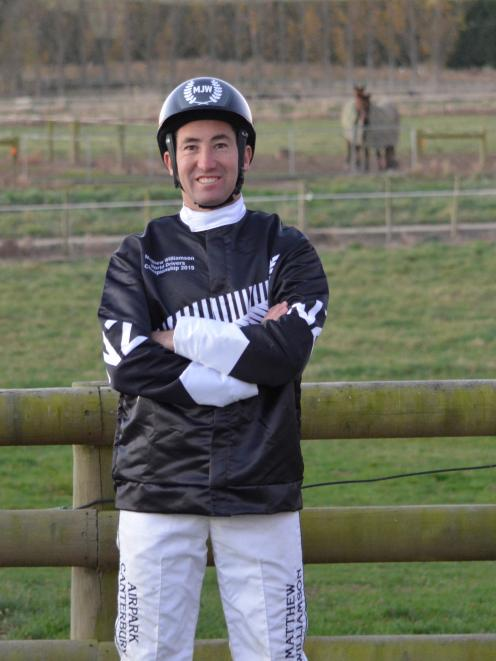 Oamaru reinsman Matthew Williamson leaves for Sweden today to compete in the World Driving Championships. Photo: Jonny Turner