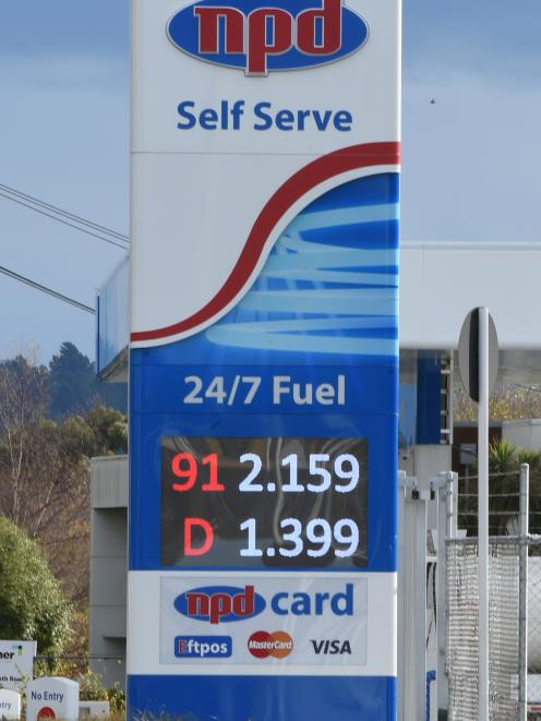 A new NPD station in Green Island causes a price chain reaction in the suburb. Photo: Gregor Richardson
