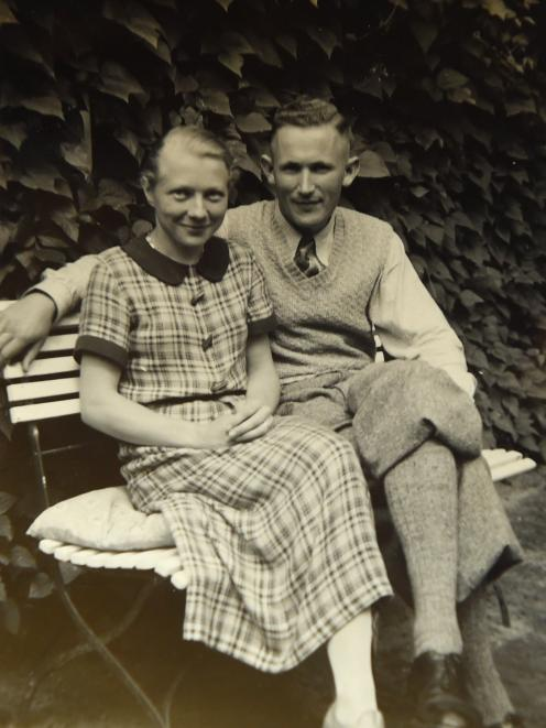 Heinke Sommer-Matheson's parents, Ernst and Lilo Sommore, pictured here in 1936, before they...