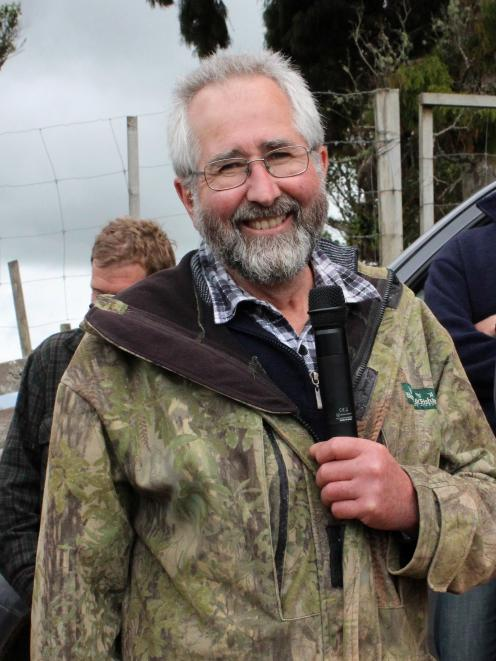 Deer scientist Geoff Asher enjoys his interactions with the farming community.