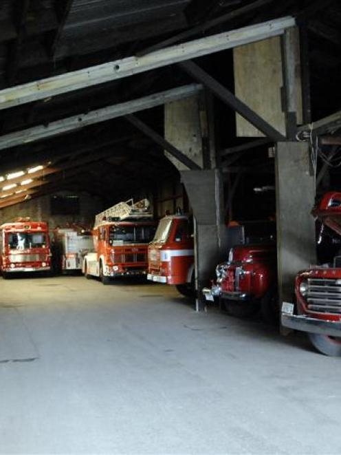 Historic Dunedin fire engines have found a new home.