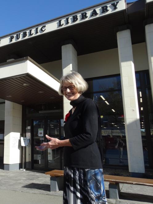 Waitaki district deputy libraries and community services manager Jean Rivett is working to re...