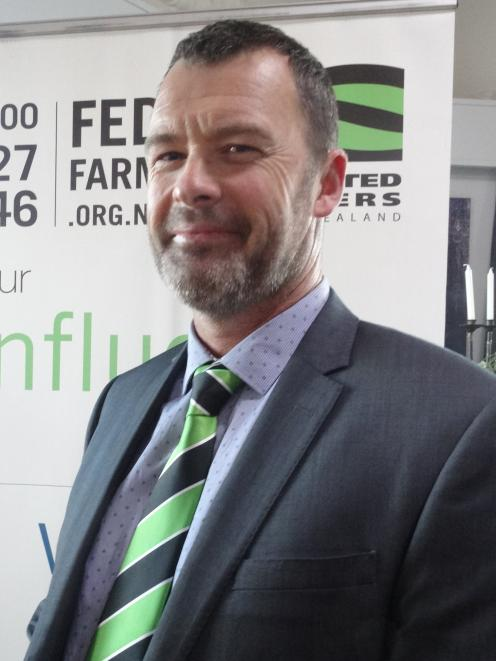 Jason Grant has been returned for another term as South Canterbury Federated Farmers president. Photo: Chris Tobin