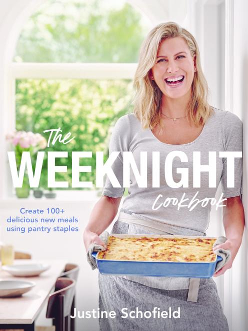 The Weeknight Cookbook, by Justine Schofield, published by Plum, RRP $39.99.