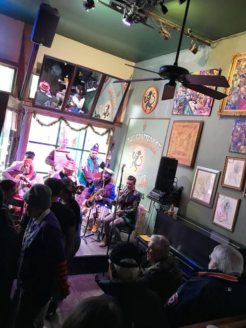The Spotted Cat Music Club in Frenchmen St.
