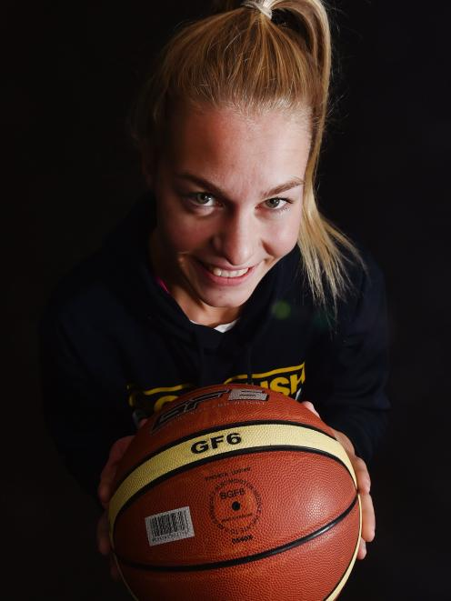 Otago Gold Rush forward Zoe Richards has returned from the United States and made a big impact....