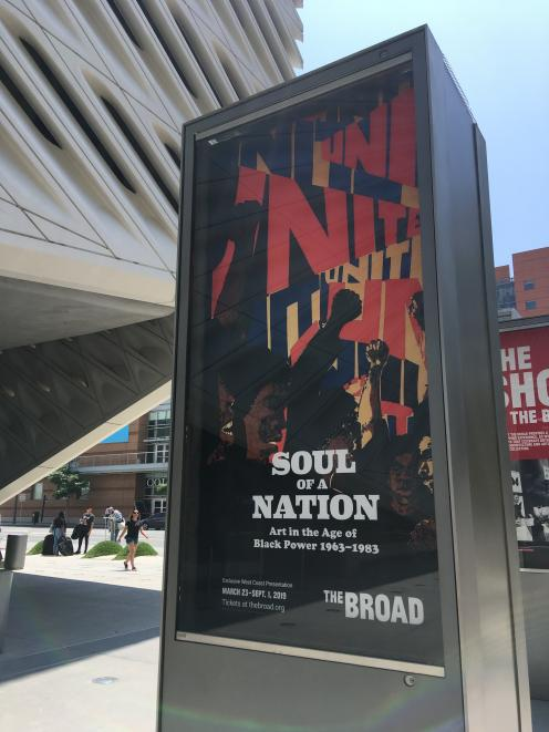 """The Brood contemporary art museum's """"Soul of a Nation - Art in the Age of Black Power, 1963-1983""""..."""