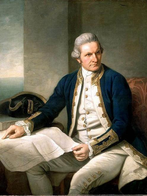 A Captain James Cook portrait by Nathaniel Dance-Holland. IMAGE: WIKIMEDIA COMMONS