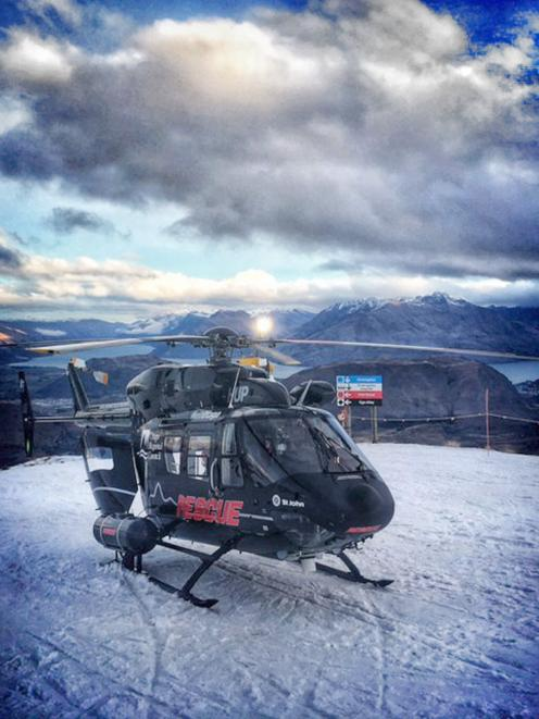 An Otago Regional Rescue Helicopter from Queenstown was called to Coronet Peak on Friday to...
