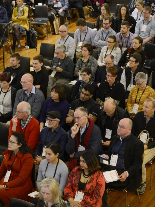 Some of those attending the Royal New Zealand College of General Practitioners conference, on now...