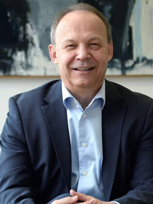DSM's global boss Christoph Goppelsroeder said his company was facing a regulatory hurdle in...