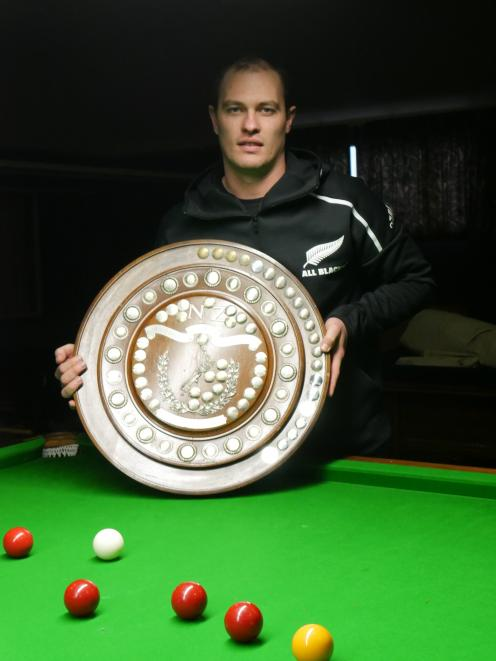 Shannon Swain, of Gore, won the New Zealand championship in Christchurch last week. PHOTO:...