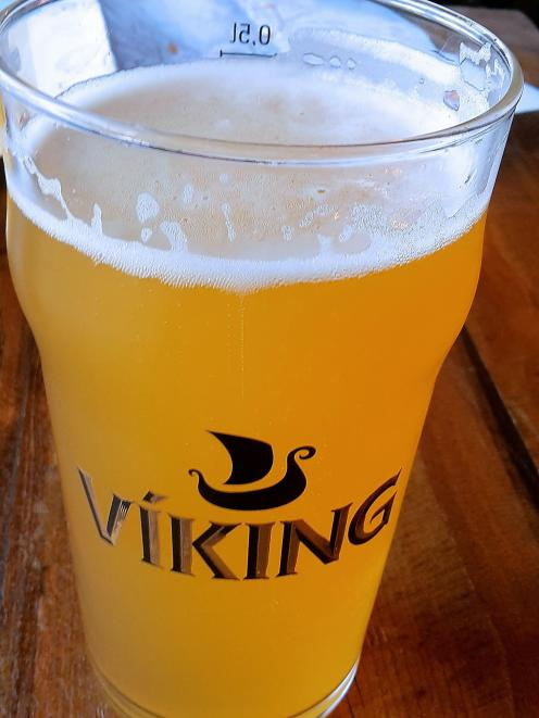 Viking beer, great to drink but it drains the pocket.