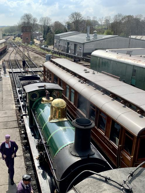 The Bluebell Railway relives the magic of steam at its picturesque Sussex location.