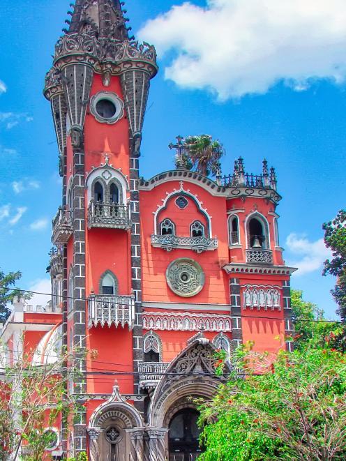 Iglesia Yurrita (Yurrita Church) in Guatemala City. Photo: Getty Images