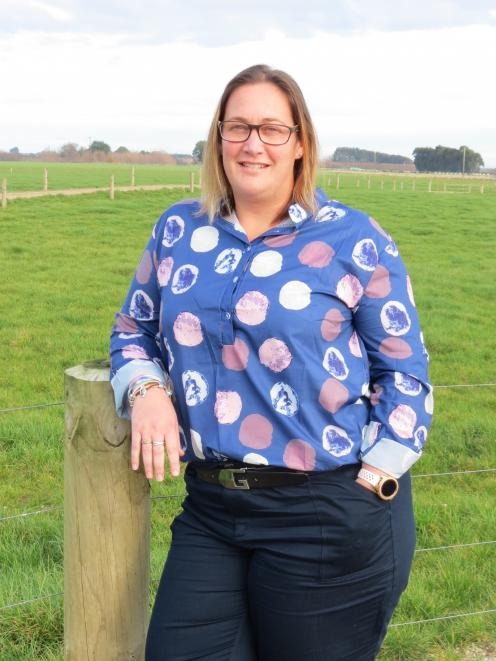 Louise Cook is the Southern Demonstration Research Farm's new general manager, and is delighted with her new role at the Southern Dairy Hub. Photo: Yvonne O'Hara